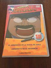 DETECTIVE CONAN DVD 10 - 1 DVD - 2 CAPS - 50 MIN - JONU MEDIA PLANETA DEAGOSTINI