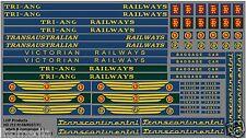 TRIANG RAILWAYS TRANSCONTINENTAL TC R159 R257 DOUBLE ENDED LOCO REFURB LHP HD212