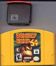 DONKEY KONG 64 N64 GAME + 4MB EXPANSION PAK 4 MB NINTENDO LOT RARE FUN EVERYONE