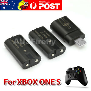 2x Rechargeable Battery+USB Charging Charger Dock For XBOX ONE S Controller 2016