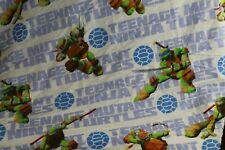 Nickelodeon Teenage Mutant Ninja Turtle Full Sheet Set Flat Fitted
