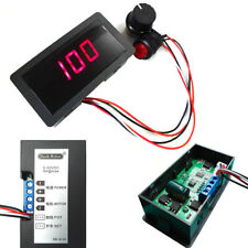 DC 6-30V 12V 24V MAX 8A Motor PWM Speed Controller With Didital Display Switch