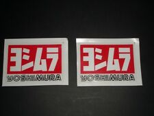Yoshimura Aufkleber Sticker Decal Race Auspuff Tune Decal Bapperl Kleber Logo S2