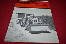 Case Tractor 65Q Loader Dealers Brochure YABE12