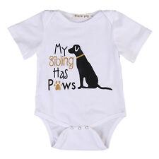 0-3M Infant Baby Boys Girls Bodysuit Romper Jumpsuit Clothes Outfits Sunsuit