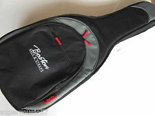 DELUXE PRO SERIES 25MM PADDED DREADNOUGHT ACOUSTIC GUITAR COVER GIG BAG GRY