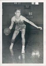 College Basketball Player John Weder Texas State University Press Photo