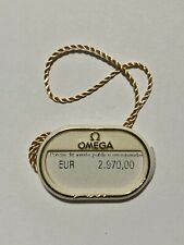 Hangtag 323.30.40.40.06.001 Steel Original Omega Day-Date Chronograph 40mm Tag