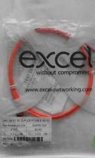 EXCEL OM2 50/125 Fibre Optic ST-SC Duplex patch Lead 2metre