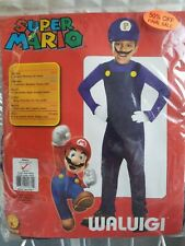 Waluigi super mario RUBIES Child Costume Rubies SIZE S (3 - 4 yrs) 50 % OFF