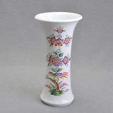Meissen Vase, Indische Fels und Vogelmalerei / Paradiesvogel, 1860 bis 1924