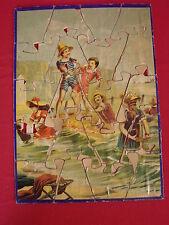 ANCIEN PUZZLE EN BOIS  / JOUETS JEUX ANCIEN n°3