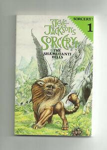 PUFFIN - STEVE JACKSON'S SORCERY, #1 THE SHAMUTANTI HILLS + SPELLBOOK (1984)
