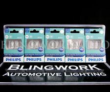 10 PCS PHILIPS Ultinon LED T10 W5W 12V 6000K XENON WHITE REGO INTERIOR LIGHT