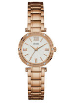 Authentic GUESS Ladies' Park Ave South Watch Rose Gold Tone W0767L3