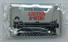 Purina Mission:Impossible Cassette Tape Your Mission:Listen & Win Sealed