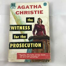 Witness For The Prosecution by Agatha Christie 1932 Dell paperback Mystery
