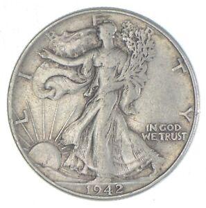 1942 Walking Liberty Half Dollar - Charles Coin Collection *439