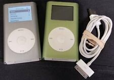 Two A1051 Apple iPod Mini 2nd Gen Mp3 Players - 10Gb Total - Lot