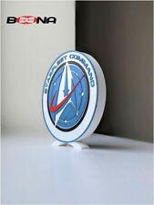 More details for decorative self standing star trek star fleet command  logo display