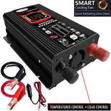 6000W Car Vehicle Power Inverter Converter DC 12V to AC 110V Car Sine Wave 2 USB