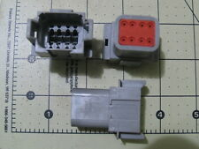 5 AMPHENOL AT Connector 8-Way Receptacles (WAYTEK #38179) (DEUTSCH #DT04-8PA)