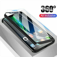For Xiaomi Redmi 7A Note 7 Pro 360° Full Protection Cover Case + Tempered Glass