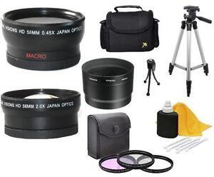 Accessory Kit (Wide Tele Filters Tripod) for Nikon Coolpix P7700 P7800