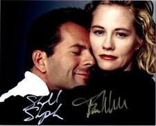 Bruce Willis Cybill Shepherd 8x10 autographed Photo signed Picture amazing + COA