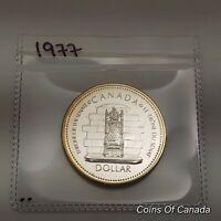 1977 Canada Silver Dollar UNCIRCULATED Specimen Coin - Jubilee #coinsofcanada