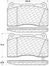 Ceramic Disc Brake Pad Set-Base Front,Rear Centric 103.10010