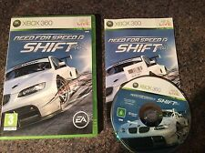Need For Speed Shift Xbox 360 Game! Complete! Look At My Other Games!