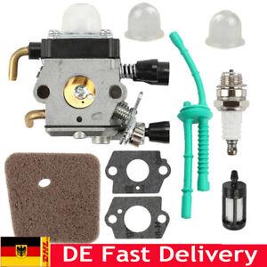 Vergaser Vergaser-Luftfilter-Kit für Stihl FS45 FS46 FS55 FC55 FS38 HS45 FS74 DE