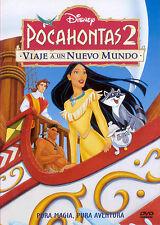 PELICULA DVD POCAHONTAS 2 WALT DISNEY