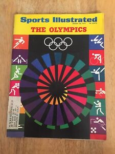 Vintage Sports Illustrated The Olympics On  Cover August 28, 1972
