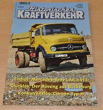 Historischer Kraftverkehr HIK 2/15 Mercedes LAK 1413 Büssing Citroen Typ H FAKA