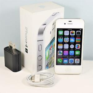 Apple iPhone 4s (AT&T) 16GB, White In Box - GSM 3G - Model A1387