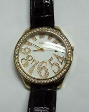Huge Faced Abstract Jeweled GUESS Watch