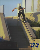 CHAD MUSKA -SKATEBOARD LEGEND - SIGNED AUTHENTIC 8x10 PHOTO E w/COA SKATEBOARDER