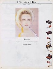 Publicité Advertising 016 1981 Christian Dior les Scarabées