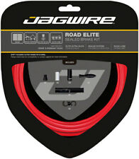 Jagwire Road Elite Sealed Red Brake Cable Kit SRAM/Shimano with Uncoated Cables