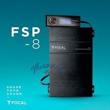 FOCAL ELITE FSP-8 PROCESSORE AUDIO CROSSOVER DSP 8 CANALI + REMOTE CONTROL NEW