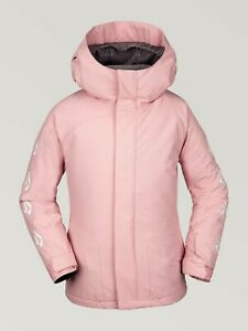 2020 NWT BIG GIRLS VOLCOM WESTERLIES INSULATED JACKET $150 M Pink