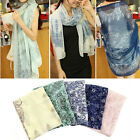 New Spring Summer Fashion Women Long Print Scarf Wrap Ladies Shawl
