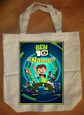 """New Ben 10"" Custom Personalized Birthday Tote Bag Party Favor"