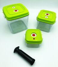 sp/ülmaschinengeeignet mikrowellengeeignet Foodsaver FSC003-I Vakuum Beh/älterset Vakuumierer