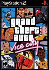 Grand Theft Auto Vice City PS2 Playstation 2 Complete Game