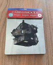 THE CABIN IN THE WOODS  STEELBOOK blu-ray Chris Hemsworth horror