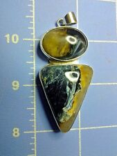 Pietersite Pendant (Sterling Silver)