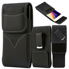 Durable Oxford Nylon Pouch Case with 360° Rotating Belt Clip For All LG Models